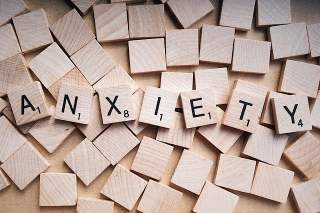 Anxiety Treatment Scrabble Puzzle