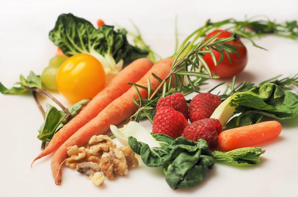 Vegetables healthy eating