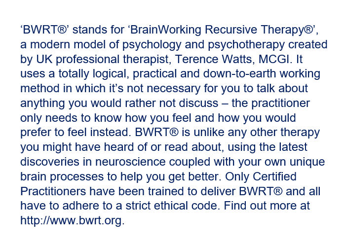BWRT information