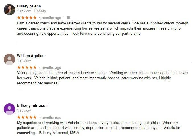 Counseling AZ Reviews Google 2